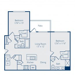 Bell Apex B2A Floor Plan