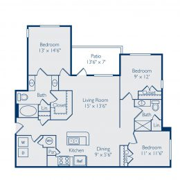 Bell Apex C2A Floor Plan